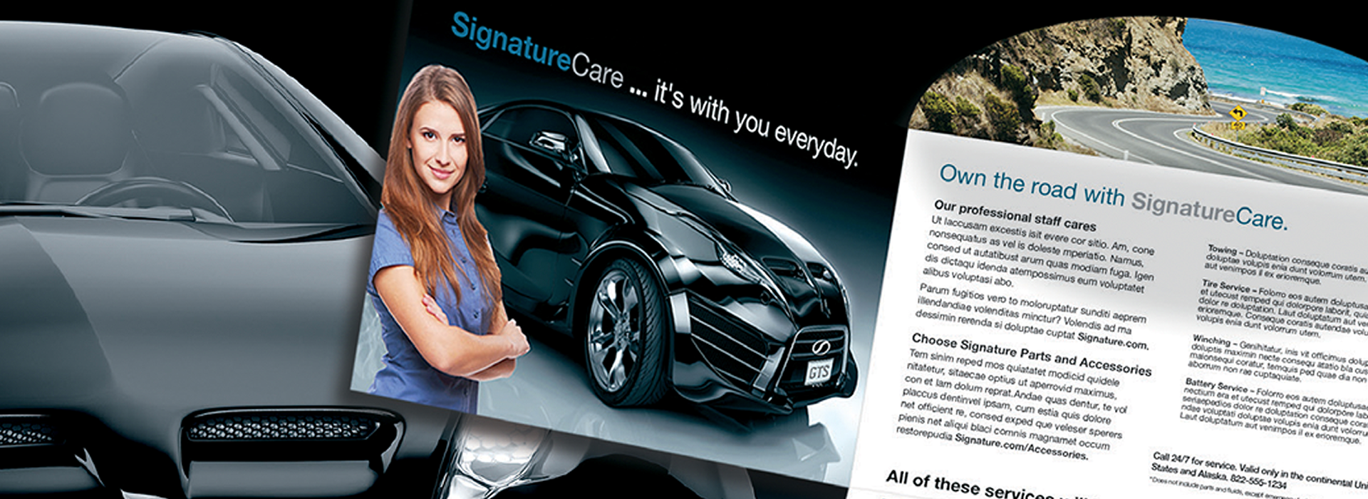 A hyper personalized direct mail piece for the auto industry