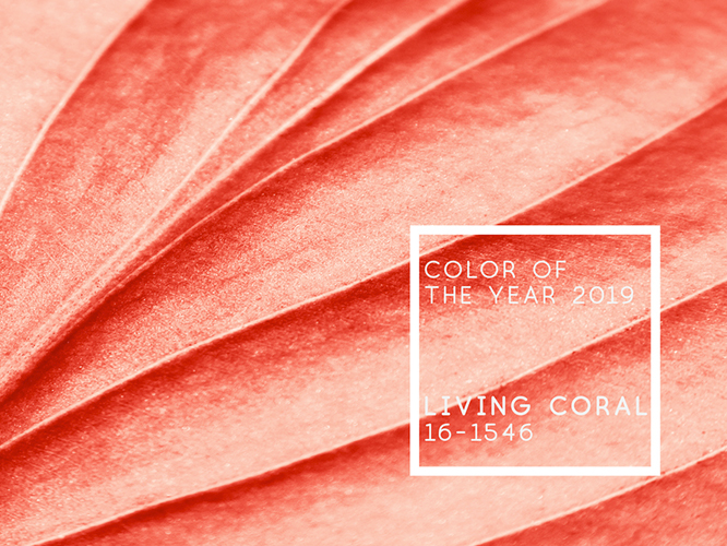 Living coral Pantone color of the year