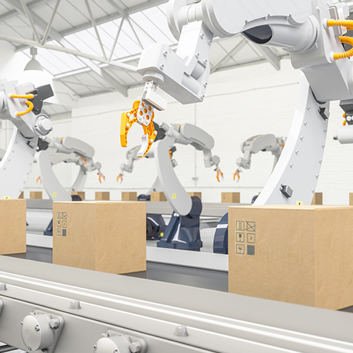Warehousing and fulfillment robots process package shipments using artificial intelligence